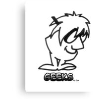 Geek 2 Canvas Print