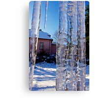 ice bars do not a prison make Canvas Print