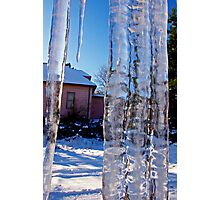 ice bars do not a prison make Photographic Print
