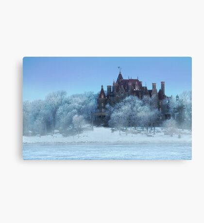 Frosted Castle Canvas Print