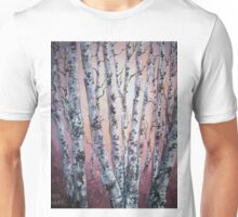 Birch tree abstract Unisex T-Shirt