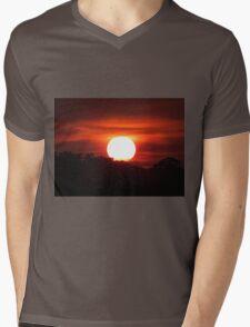 Carolina Sunset Mens V-Neck T-Shirt