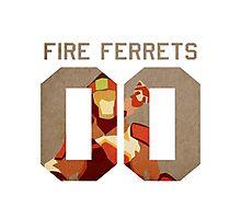 Fire Ferrets Bolin Photographic Print