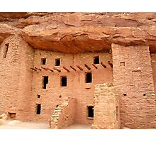 Pueblo Cliff Dwellings, Manitou Springs, Colorado Photographic Print