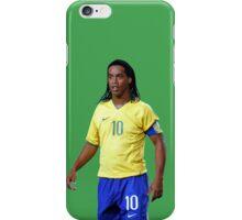 Ronaldinho with Brazil iPhone Case/Skin