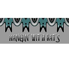 Hangin' With Bats Photographic Print