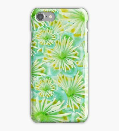 The green flowers  iPhone Case/Skin