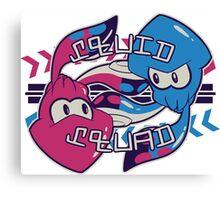 Squid Squad! Canvas Print