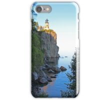 Rustic Lake Superior Lighthouse iPhone Case/Skin