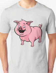 Happy cartoon pig T-Shirt