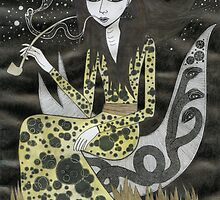 Smoking Girl by Bethy Williams