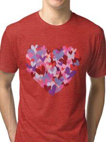 I love hearts Tri-blend T-Shirt