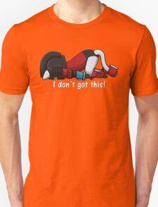 Perceptor Kitty Failing Unisex T-Shirt