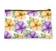Yellow and violet Studio Pouch