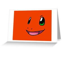 Pokemon - Charmander Greeting Card