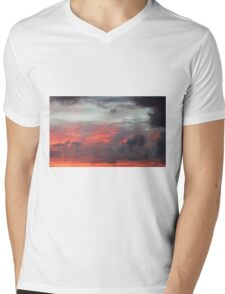 Clouds At Sunrise Mens V-Neck T-Shirt