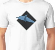 Origami Collection Dolphin Unisex T-Shirt