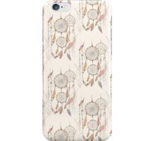 Dreamcatcher seamless pattern iPhone Case/Skin