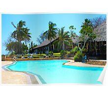 Diani Beach Resort in Mombasa, Kenya Poster