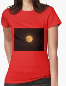Summer Moon Womens Fitted T-Shirt