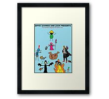 The Pet Battle Masters Framed Print