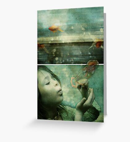 La Mer or the Power of the Imagination Greeting Card