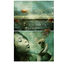 La Mer or the Power of the Imagination Photographic Print