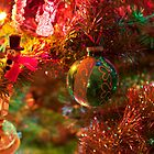 Christmas tree close up. by Edward Mahala