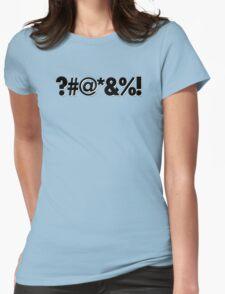 Q*Bert Parody ?#@*&%!  Womens Fitted T-Shirt