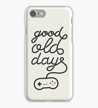 Good Old Days iPhone Case/Skin