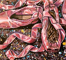 Acrylic Pointe Shoes 2 by Rachelle Dyer
