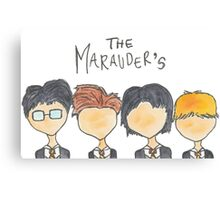 The Marauder's Canvas Print