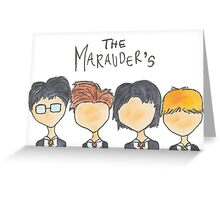 The Marauder's Greeting Card