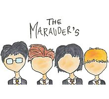 The Marauder's Photographic Print
