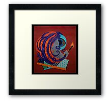 The Power & Fire of Woman's Will Framed Print