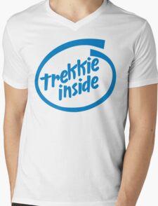 Trekkie Inside Mens V-Neck T-Shirt