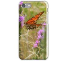 August Butterfly - Gulf Fritillary iPhone Case/Skin