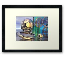 The mystery planet Framed Print