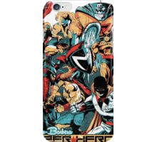 HANNA-BARBERA SUPER HEROES OLD iPhone Case/Skin