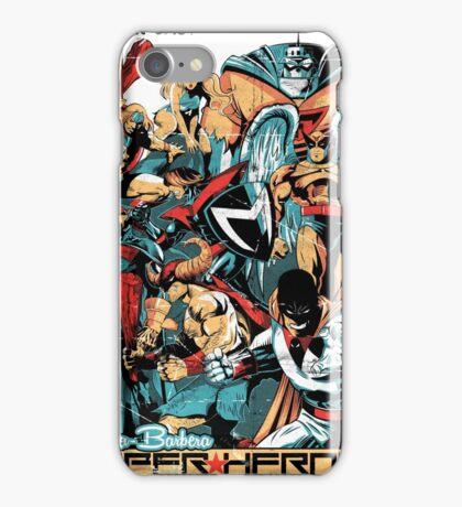 HANNA-BARBERA SUPER HEROES OLD iPhone Case/Skin