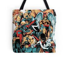 HANNA-BARBERA SUPER HEROES OLD Tote Bag