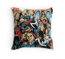 HANNA-BARBERA SUPER HEROES OLD Throw Pillow