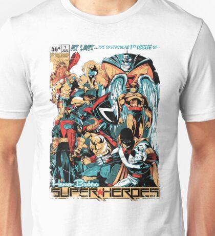 HANNA-BARBERA SUPER HEROES OLD Unisex T-Shirt
