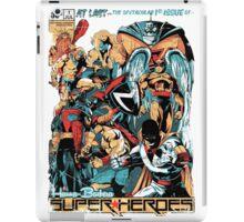 HANNA-BARBERA SUPER HEROES OLD iPad Case/Skin
