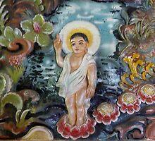 Buddha child. by Amanda Gazidis
