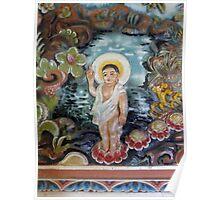 Buddha child. Poster