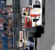Ayrton Senna vs Nigel Mansell at Monaco '92 - Phone cases by DazImolaWOC