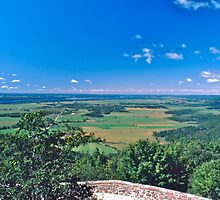 Chaimplain Lookout, Gatineau Park by David Davies