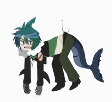Shark Attack One Piece - Long Sleeve