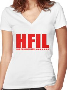HFIL Dragonball Tee Women's Fitted V-Neck T-Shirt